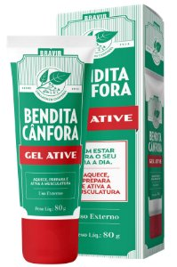 BENDITA CÂNFORA GEL ATIVE 80g
