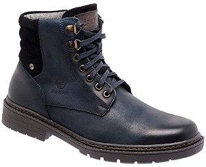 Coturno Amarok Defender 780-1 Material Couro Nobuck Cor Jeans