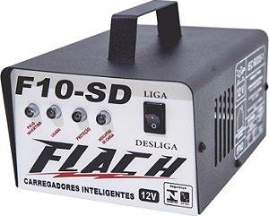 Carregador de Bateria Inteligente F10-SD 127/220V 60A 12V - Flach