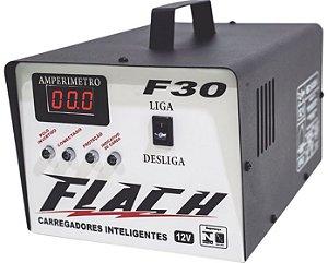 Carregador de Bateria Inteligente F30 127/220V 150A 12V - Flach