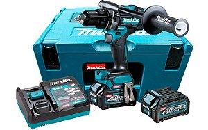 Parafusadeira/Furadeira de Impacto 1/2 18V Com 2 Baterias e Carregador - HP001GD201 - Makita