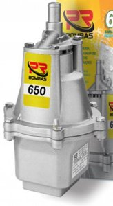 Bomba D agua submersa SAPO 650 127V 340W 1500LT/H - PR BOMBAS