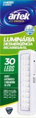 Lâmpada de Emergência 30 LEDTIMES - Artek