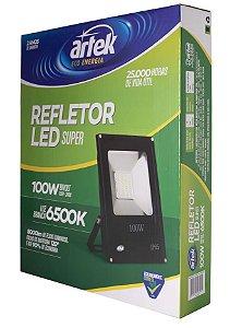 Refletor Super LED 100W 100V-240V 6500K - Artek