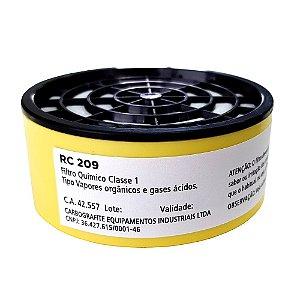 Filtro RC 209 (Para Modelo CG 309) - Carbografite