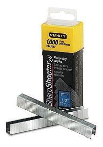 Grampos p/ Trabalho Pesado 1/2 caixa com 1000 Peças - TRA708T - Stanley