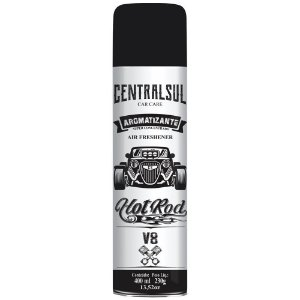 Aromatizante Automotivo Hot Rod V8 400 ml - 015637-0 - Centralsul