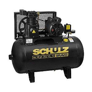 Compressor de Ar CSL 10BR/100 Bravo 220/380V 2CV 2P 60HZ - 921.7851-0 - Schulz