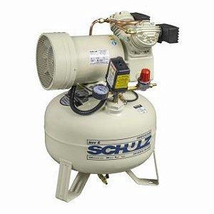 Compressor de Ar MSV 6/30L Isento de Óleo 110V 60HZ Sem Gabinete - 921.1230-0 - Schulz