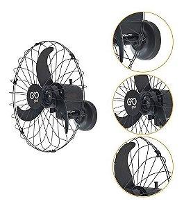 Ventilador de Parede Industrial 60 cm Preto - V60PPRRB - Goar