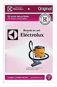 Kit Saco Descartável Para Aspirador GT2200 - 77405171 - Electrolux