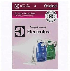 Kit Saco Descartável Para Aspirador Mondo/Clean - 77405130 - Electrolux