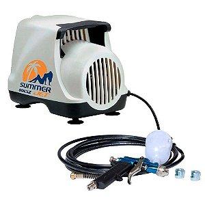 Compressor de Ar Summer Jet 1/4CV 110V C/ Acessórios - 920.1152-0 - Schulz