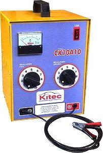 Carregador de Bateria 127V/220V 70A/H 12V - CK10A10 - Kitec