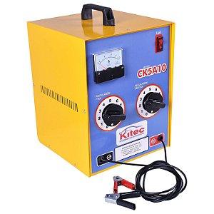 Carregador de Bateria 127/220V 70A 12V Carga Lenta - CK5A10 - Kitec