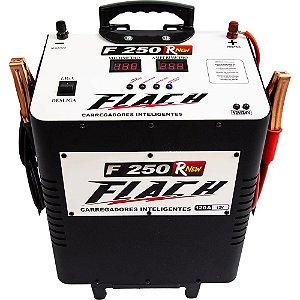Carregador de Bateria Inteligente 127/220V 120A 12V - F250RNEW - Flach