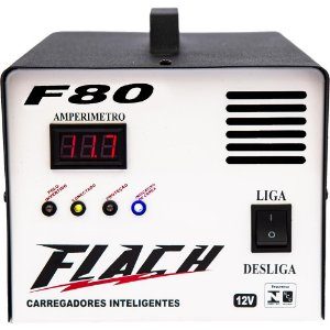 Carregador de Bateria Inteligente F80 127V/220V 150A 12V - F80 - Flach