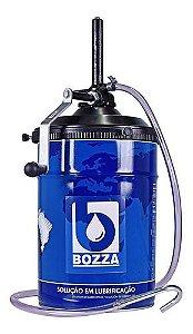 Bomba Manual p/ Óleo 24 Litros 8032-G3 c/ Recipiente Oval - 01.210.0009 - Bozza