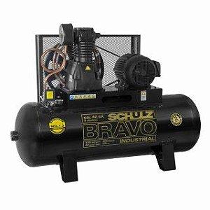 Compressor de Ar CSL 40 BR 250L 220/380/460V 10CV 2P - 922.9234-0 - Schulz