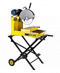 """Cortadora de Bloco Elétrica CB 350 2HP 14"""" Corte de 120mm - 40126042 - CSM"""