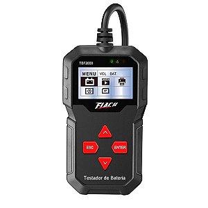 Testador de Bateria Digital 12V - TBF-2000 - Flach