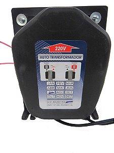Autotransformador Tripolar 3600W Bivolt 110/220V - 5000VAT - KITEC