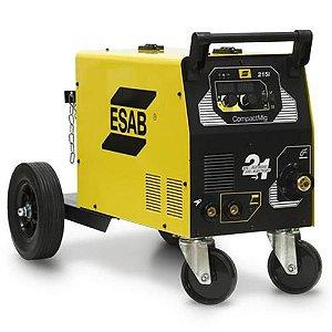 Máquina de Solda MIG CompactMig 215I 220V 200A - 0736630 - Esab
