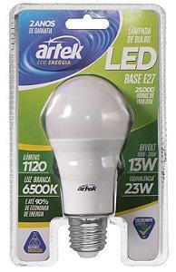 Lâmpada LED 13W 127/220V 6500K Bulbo - 4203 - Artek