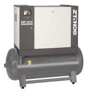 Compressor de Ar Parafuso SRP 4015E TS 15CV 7,5 bar 220V - 970.2349-0/V2 - Schulz