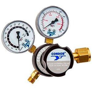 Regulador de Pressão com Manofluxômetro CO2 MDN-G30 - 407786 - Condor
