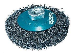 Escova de Aço Ondulado tipo Cônica 4 - D-39827 - Makita