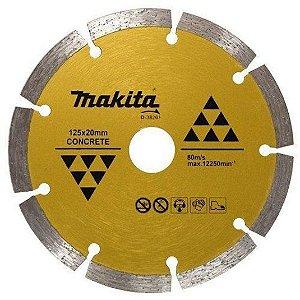 "Disco Diamantado Segmentado 5"" 20mm - D-38261 - Makita"