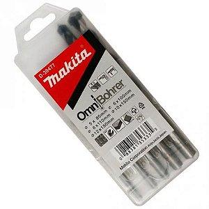 Broca Omnibohrer Multimaterial 5-12x85-150mm (5 Peças) - D-30477 - Makita