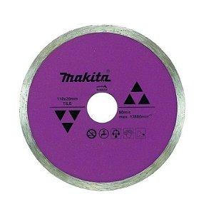 """Disco Diamantado 4.3/8"""" p/ Porcelanato e Cerâmica - D-44258 - Makita"""