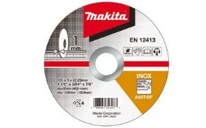 Disco de Corte Abrasivo Fino 7x1/16x7/8 GR 60 - B-12267-10 - Makita