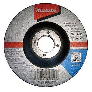 Disco de Desbaste Abrasivo 7x1/4x7/8 GR 24 - D-19853-5 - Makita