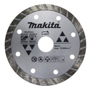 Disco Diamantado Turbo 4.1/4 20mm (Mármore) - D-42553 - Makita