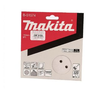 """Disco de Lixa 6"""" GR320 (10 Unidades) Multimateriais - B-51574 - Makita"""