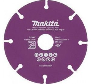 Disco Diamantado p/ Metal 115mm - B-53687 - Makita