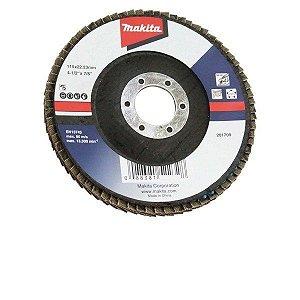 "Disco Flap Lixa 4.1/2x7/8"" GR80 (Alumínio) - D-63454-10 - Makita"