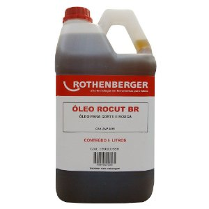 Óleo de Corte/Rosca p/ Rosqueadeira Rocut 5 Litros - 08000005BR - Rothenberger
