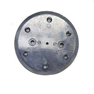 Placa da Válvula de Admissão e Compressão de Ar em Alumínio - 709.1712-0/AT - Schulz