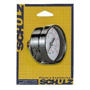 "Manômetro 1/4"" 250lbs Horizontal - 830.1672-0 - Schulz"