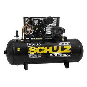 Compressor de Ar CMSV 20 MAX/250L Trifásico 5CV - 922.7738-0 - Schulz