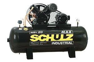Compressor de AR 20 MAX Pistão Schulz