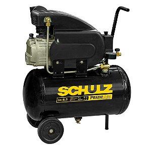 Compressor de Ar Pratic Air CSI 8,5/25L 2CV 110V - Schulz