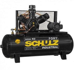 Compressor de Ar CMSW 40 FORT 425L 220/380/440V TRIF 10CV 2P - Schulz