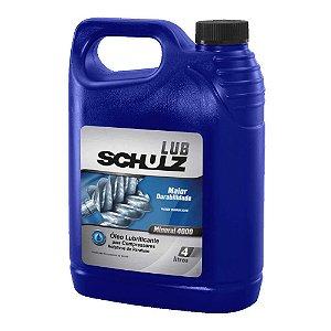Óleo Lubrificante para Compressor de Parafuso 4 Litros - Schulz