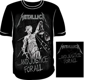 Camisa Metallica Justice for All