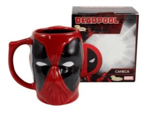 Caneca de Porcelana DEADPOOL - 400 ml